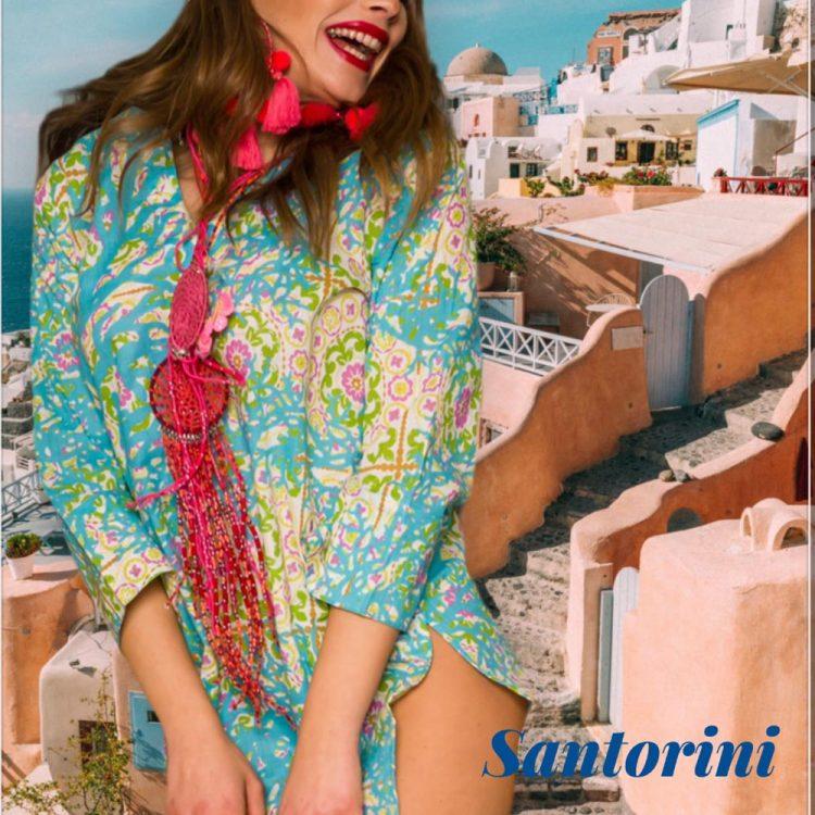 Antica Sartoria Positano By Giacomo Cinque KAFTANO DONNA Colore ROSA Taglia M