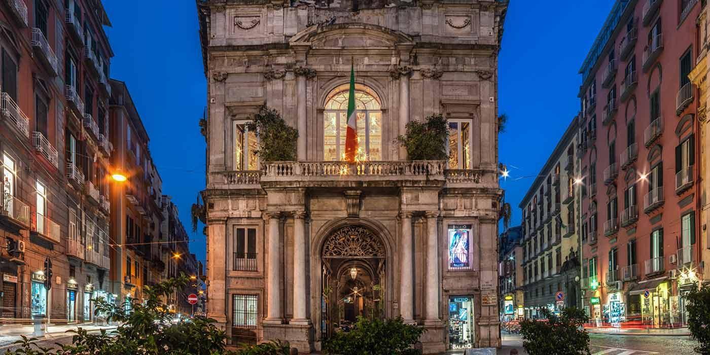 Antica Sartoria Positano Il palazzo Doria